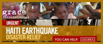 Click to learn how to help Haiti through Grace International